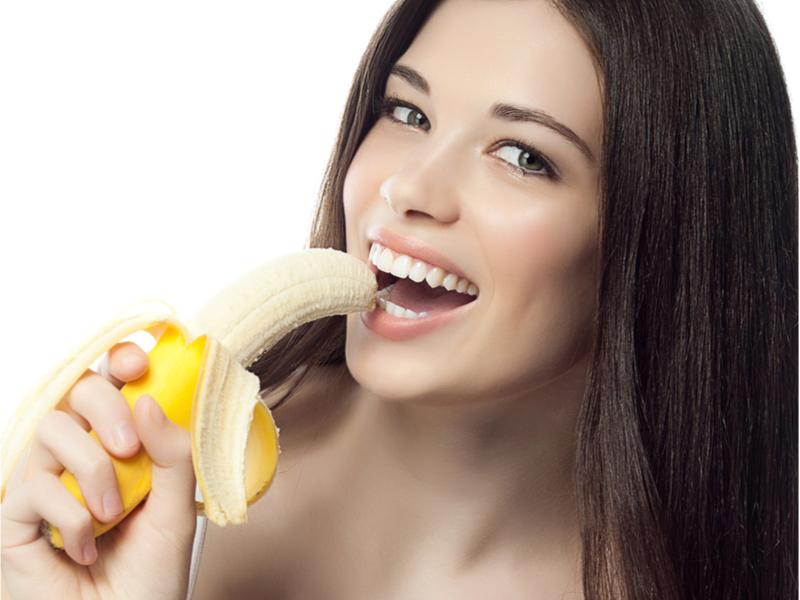 הלבנת שיניים עם בננה