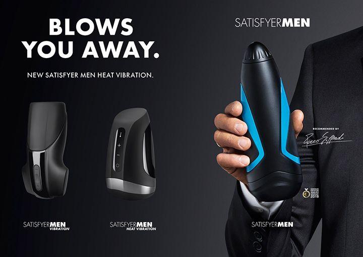 סטיספייר רוטט לגבר | Satisfyer Men Vibration - טבע בריא