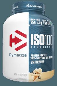 אבקת חלבון דיימטייז איזו 100   DYMATIZE ISO 100