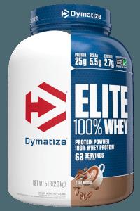 אבקת חלבון דיימטייז עלית   Dymatize Whey Protein Elite