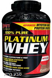אבקת חלבון  סאן | SAN PLATINUM WHEY