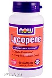 ליקופן Lycopene 60 כמוסות רכות Now