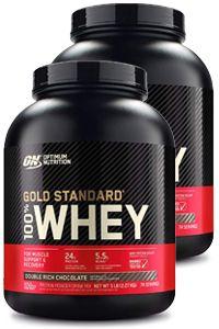 מארז זוגי אבקת חלבון אופטימום גולד | Optimum Nutrition