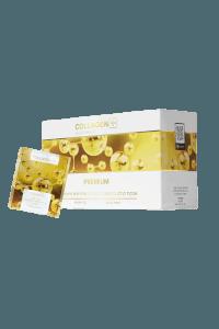 קולגן בתוספת חומצה היאלורונית וויטמין Premium | C  | קולגן פלוס