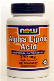ALA חומצה אלפא ליפואית-  NOW Alpha Lipoic Acid