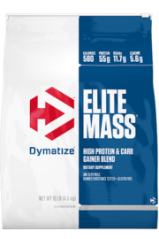 עלית מאס גיינר 4.5 ק״ג DYMATIZE- ELITE