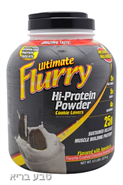 פלורי אבקת חלבון 2.3 ק״ג Ultimate Flurry Hi-Protein Powder