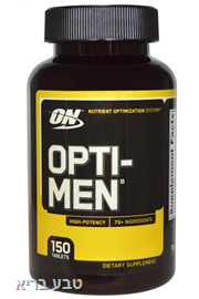 OPTI MAN | אופטי מן 150 כמוסות