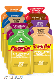 ג׳ל אנרגיה 24 יחידות PowerBar