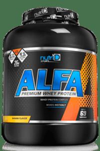 אבקת חלבון כשרה אלפא | ALFA WHEY
