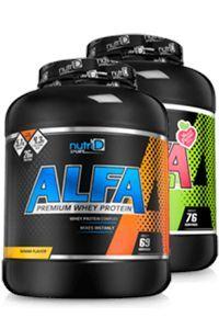 זוג אבקות חלבון משולב   אלפא   ALFA