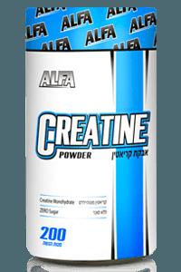 קריאטין 500 גרם במבצע ברכישת אבקת חלבון/גיינר בלבד