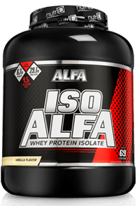 אבקת חלבון איזו אלפא     ISO ALFA