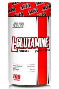 גלוטמין 500 גרם L-GLUTAMIN נוטרי די ספורט