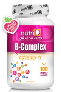 ויטמין B קומפלקס | B-Complex | נוטרי די