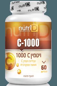 ויטמין C 1000 חומצי | נוטרי די
