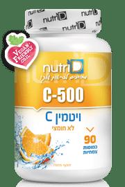 ויטמין C 500 | נוטרי די | C 500