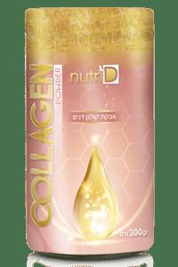 אבקת קולגן עם חומצה היאלורונית וויטמין C | נוטרי די