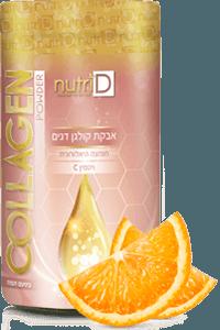 קולגן וחומצה היאלורונית בטעם תפוז | נוטרי די
