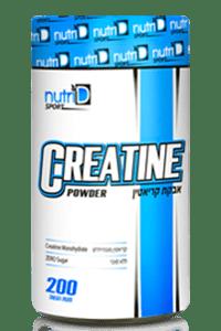 קריאטין 500 גרם - Nutri-D Sport