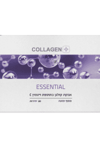 קולגן בתוספת ויטמין ESSENTIAL | C | קולגן פלוס