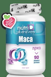 מאקה 500 מ״ג | Maca | נוטרי די