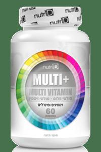 מולטי ויטמין פלוס | + Multi | נוטרי די