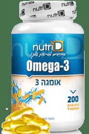 אומגה 3 - 400 כמוסות | Omega 3 | נוטרי די