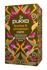 תה ליקוריץ וקינמון | Pukka