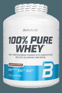 אבקת חלבון 100% פיור וואיי   BioTechUSA