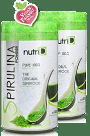 אבקת ספירולינה מארז זוגי | Spirulina | נוטרי די