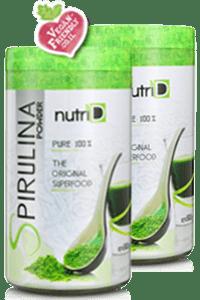 מארז זוגי אבקת ספירולינה | Spirulina | נוטרי די