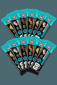 12 חטיפי חלבון GO   תנובה
