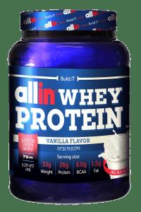 אבקת חלבון אול אין | Allin WHEY PROTEIN