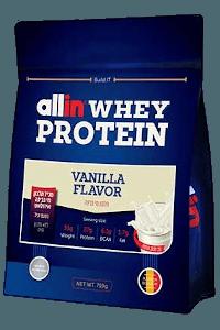 אבקת חלבון אול אין 750 גרם | Allin WHEY PROTEIN