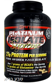 SAN Platinum Isolate - סאן חלבון אייזולט 2.3 ק״ג