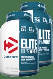 מארז זוגי אבקת חלבון עלית דיימטייז | Dymatize Elite