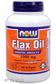 שמן פשתן FLAX OIL NOW