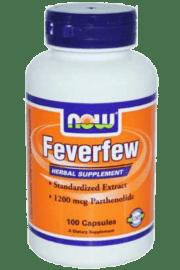 חרצית ריחנית Feverfew- NOW