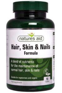 שיער, עור וציפורניים natures aid | HSN