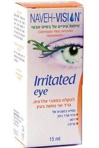 טיפות עיניים לאלרגיה | Irritated eye | נוה פארמה
