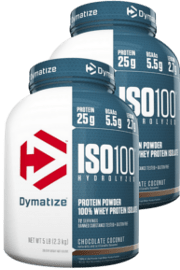זוג איזו 100 | DYMATIZE 1SO 100