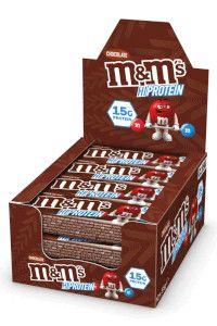 24 חטיפי חלבון  M&M