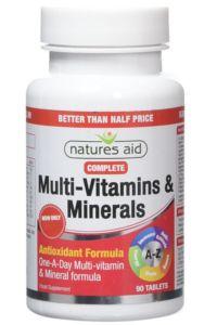 מולטי ויטמין צמחי | natures aid