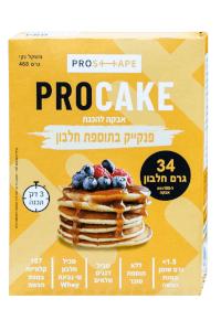 פרוקייק | אבקה להכנת פנקייק חלבון
