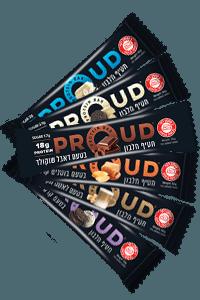 6 חטיפי חלבון PROUD