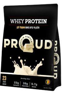 אבקת חלבון WHEY מבית PROUD