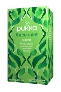 תה שלוש מנטה   פוקה