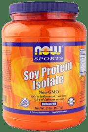 אבקת חלבון סויה - NOW Soy protein isolate