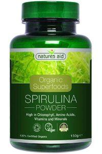 אבקת ספירולינה  | natures aid
